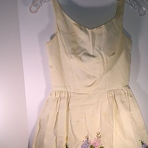 Vintage Jonny Herbert Dress